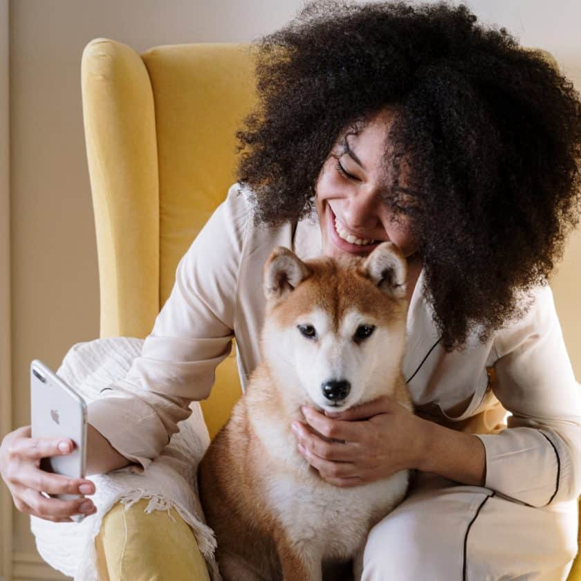 Talking to your dogs mean you them