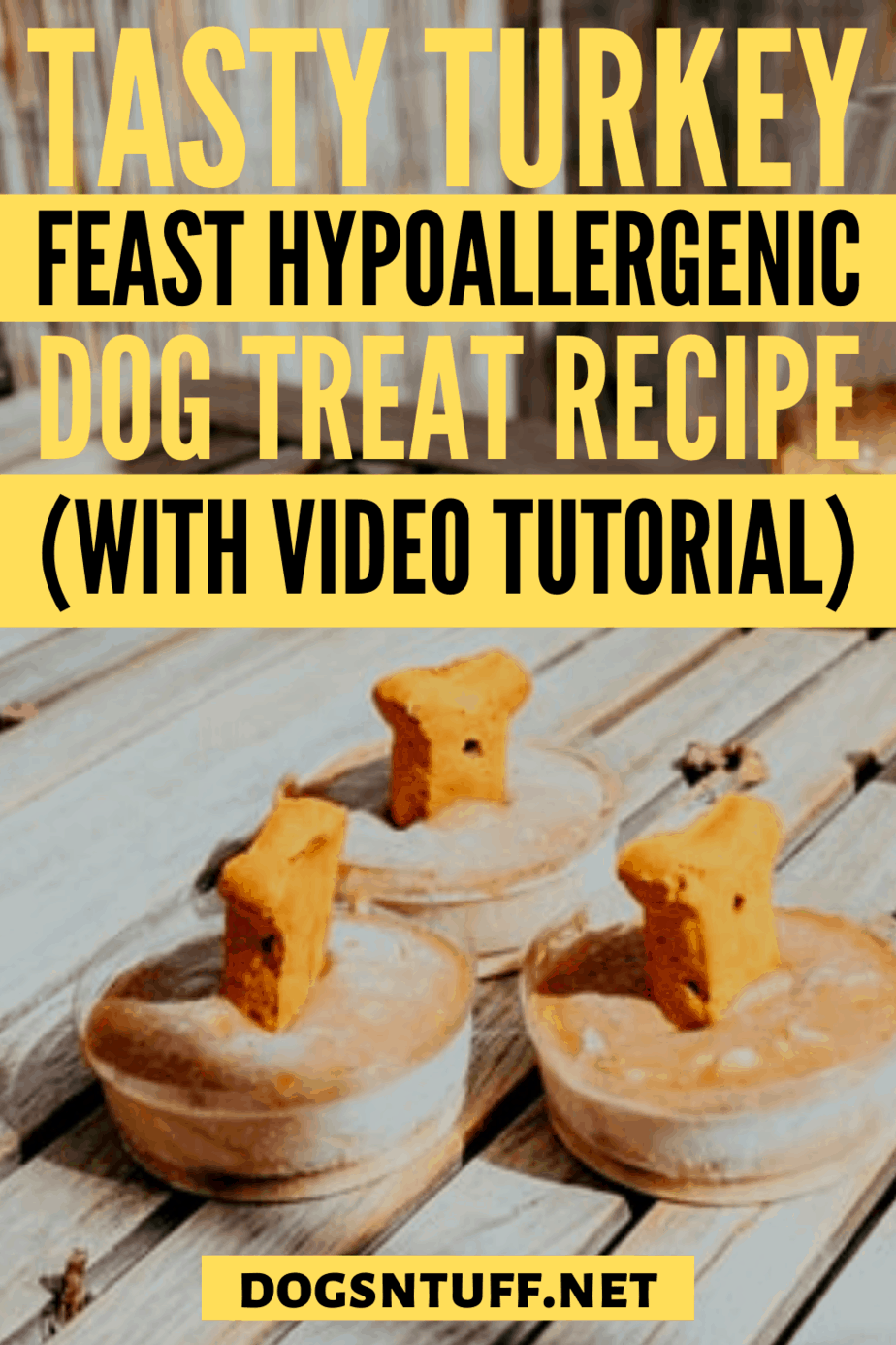Tips and Tricks on How to Make Hypoallergenic Turkey Dog Treats